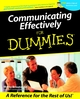 Book - Communicating Effectively for Dummies